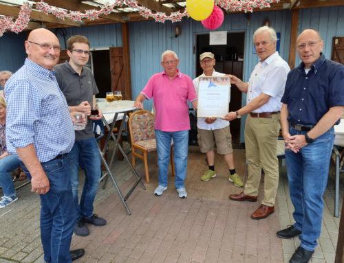 Gisbert Alfing feiert seinen 80. Geburtstag + Ernennung zum Ehrenmitglied der BBG!