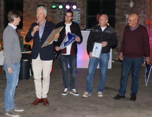 Verleihung des Blauen Bandes der Borkenberge an Raphael Twardowski
